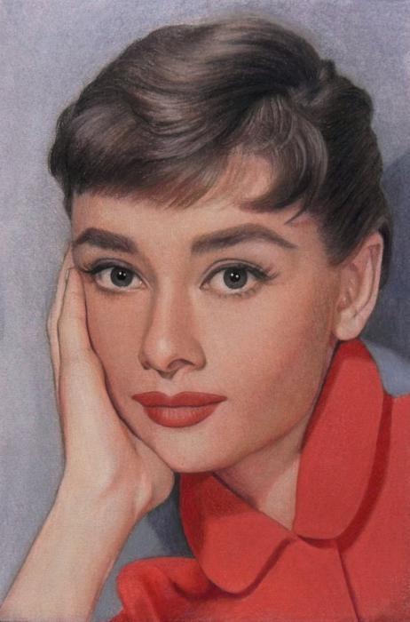 Audrey Hepburn por Lizapoly
